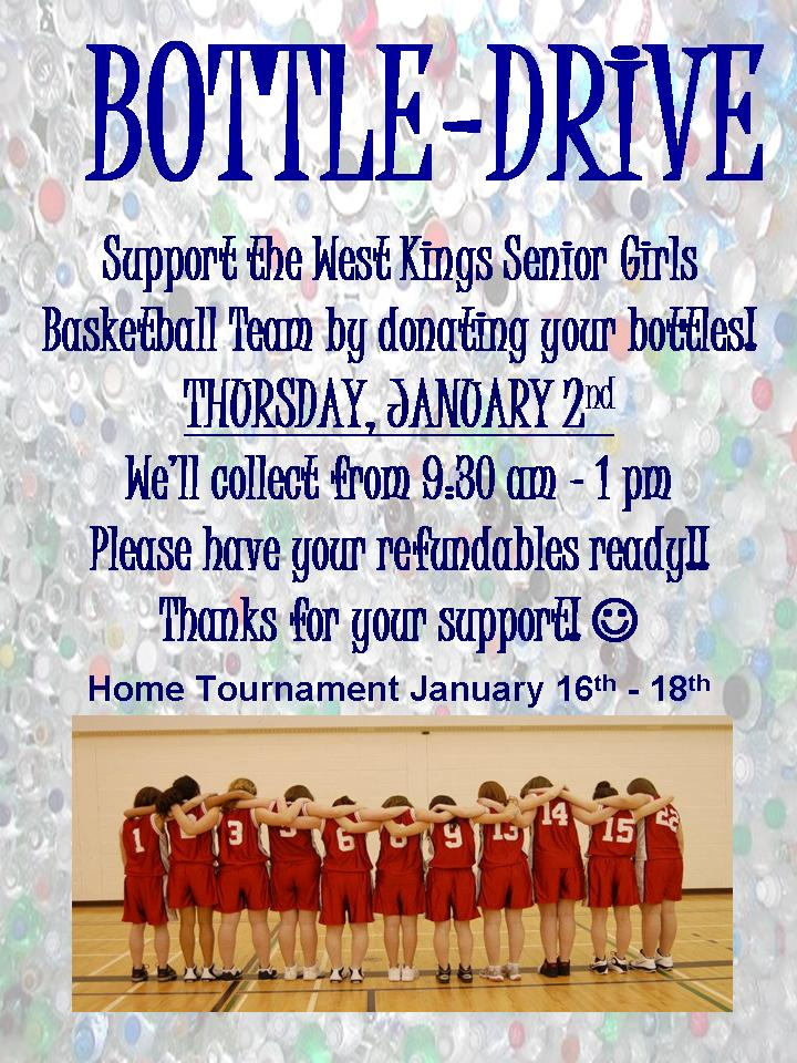 Yahoo Driving Directions Google >> Bottle Drive at West Kings District High School, Auburn (January 2, 2014 9:30am)