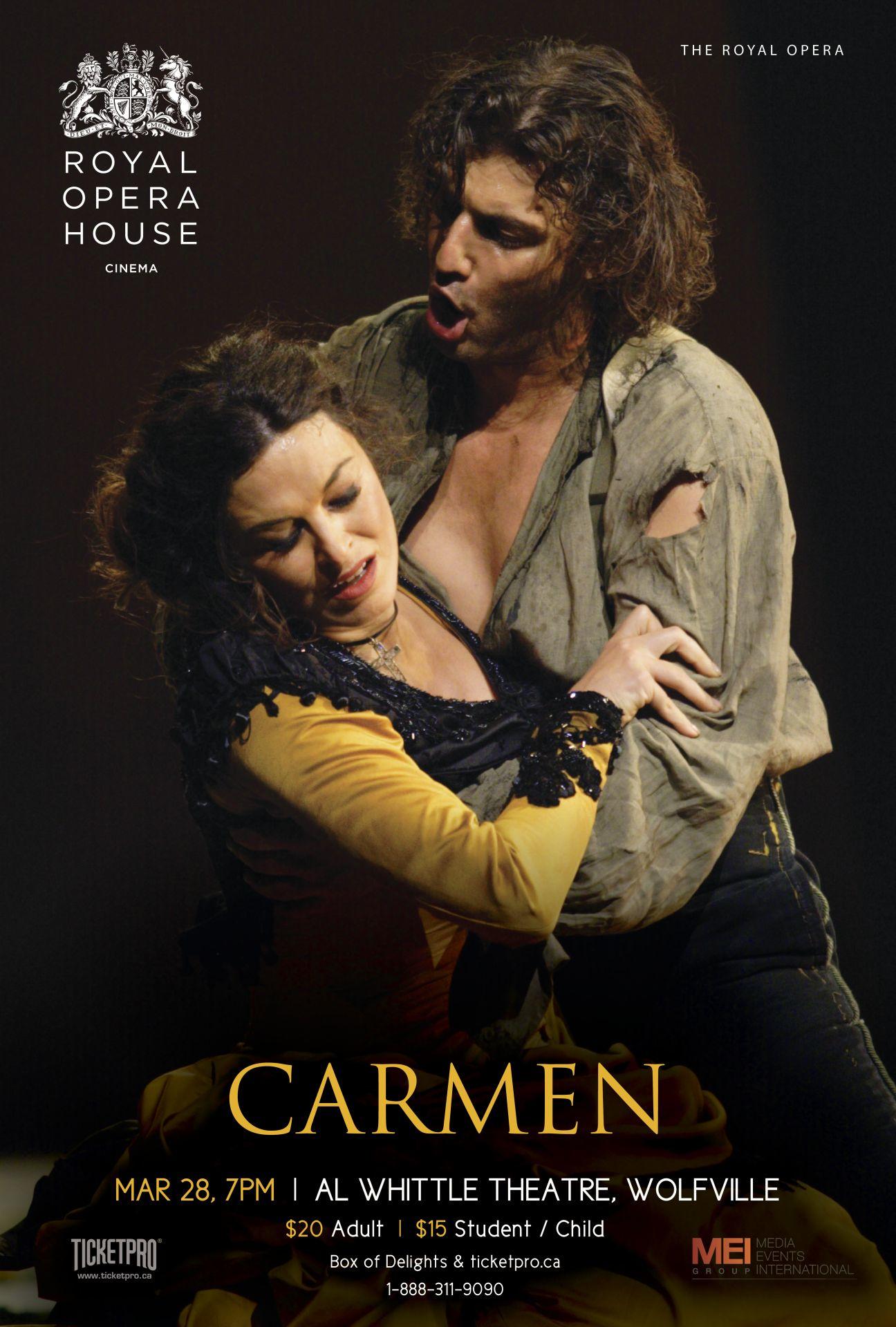 pischasova opera posters carmen