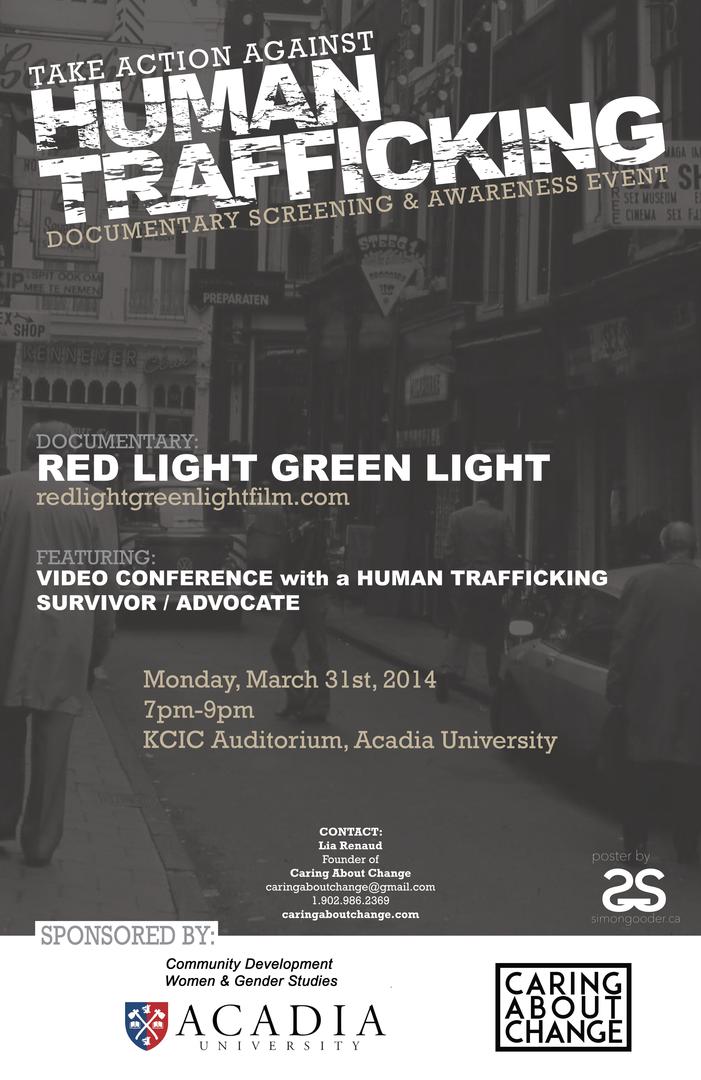 Human Trafficking Documentary Screening at K.C. Irving ...