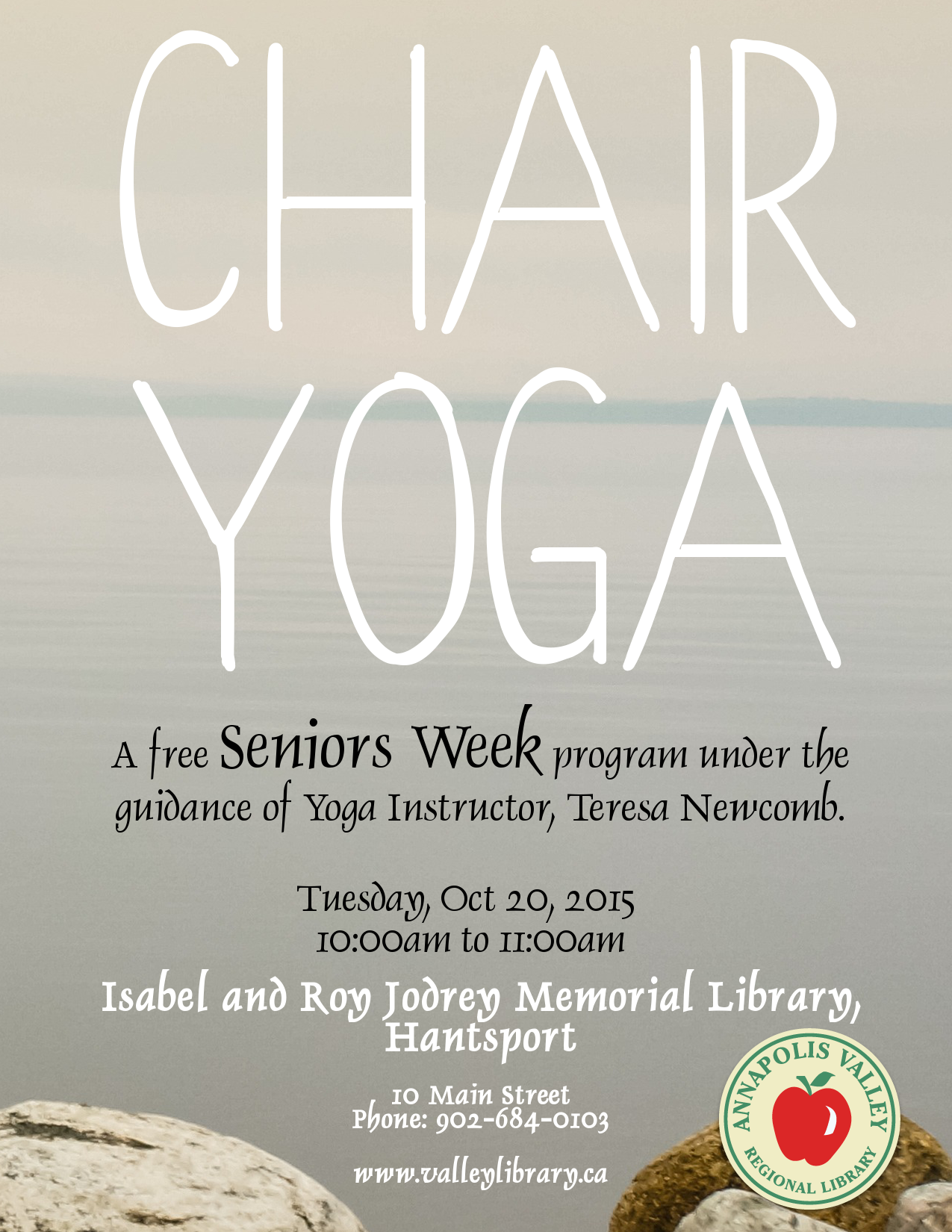 Diy Google Calendar : Chair yoga for seniors at isabel roy jodrey memorial