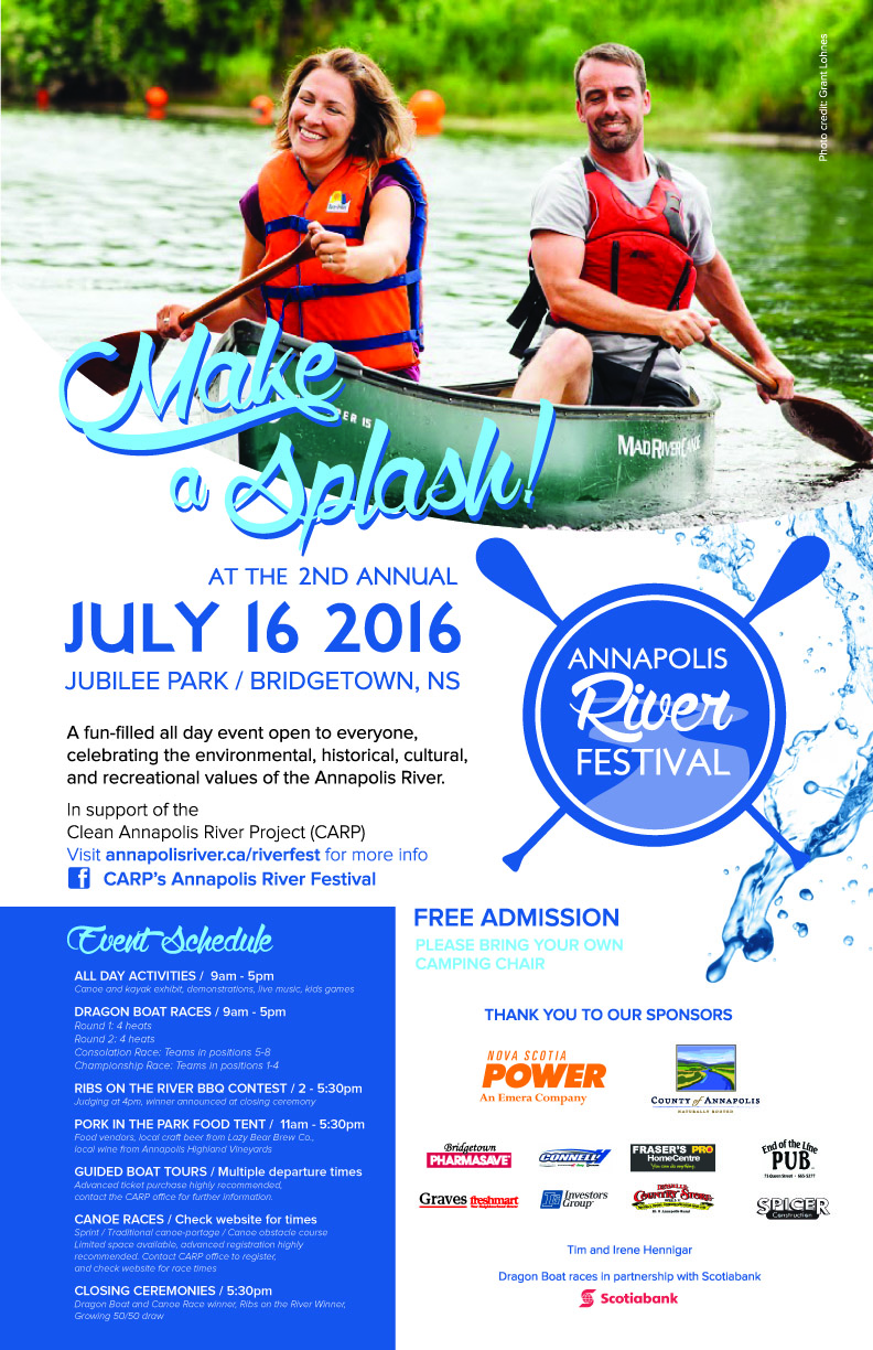 annapolis river festival at jubilee park bridgetown july