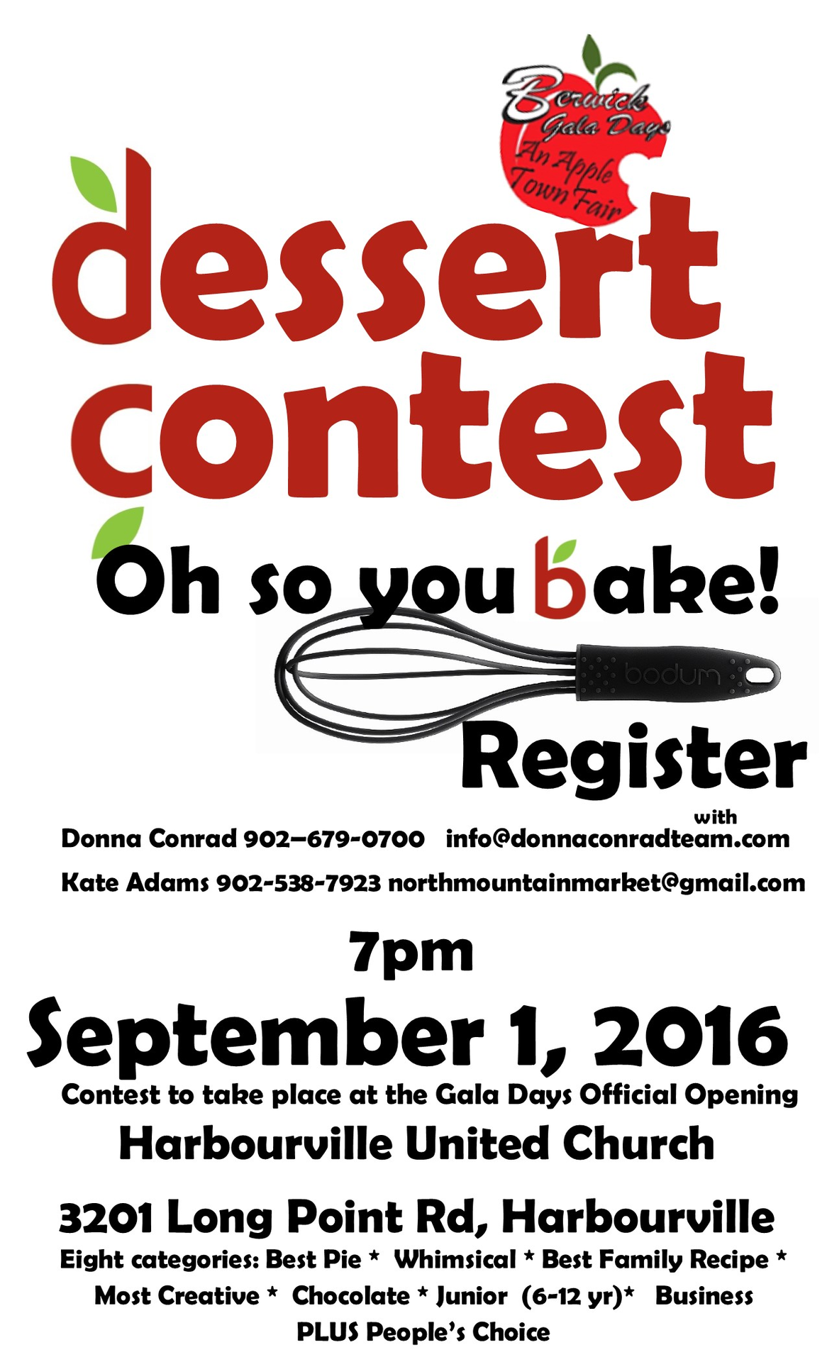 dessert contest at north mountain united tapestry
