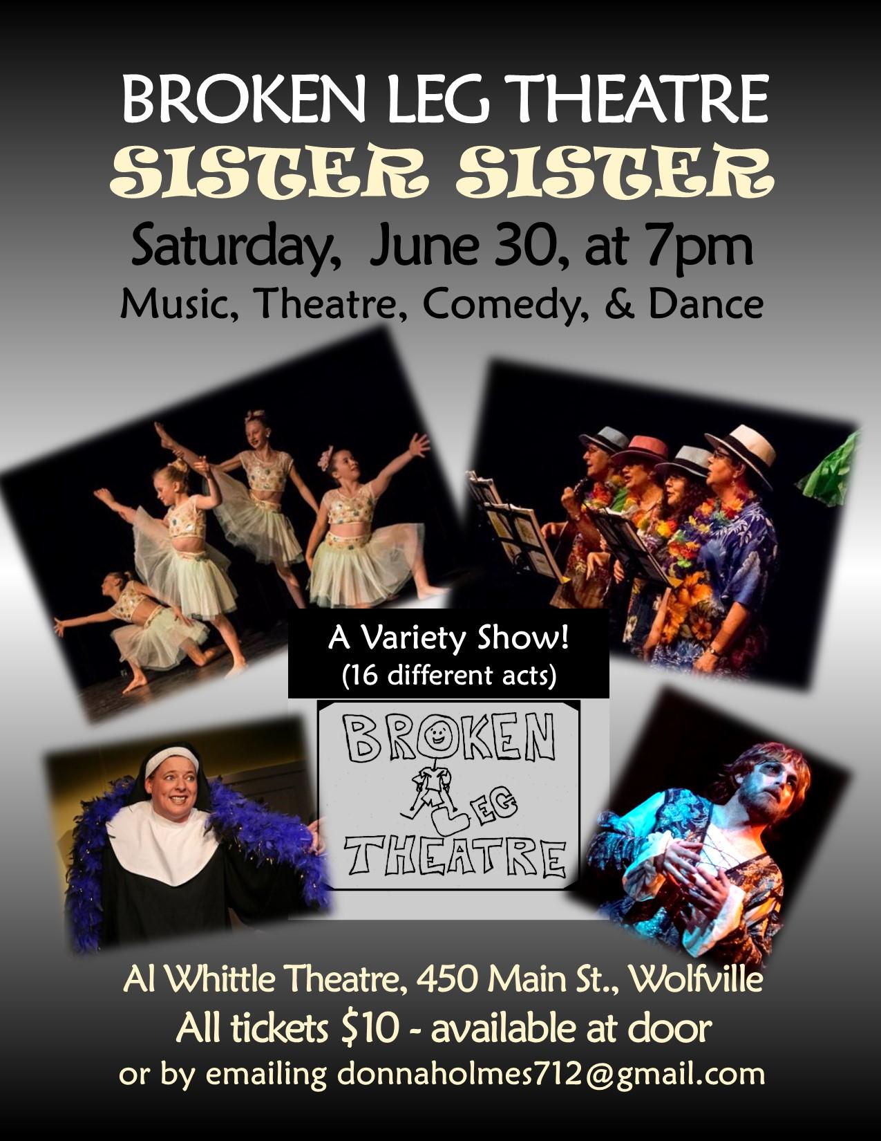 theater. Sisters 4 ladies