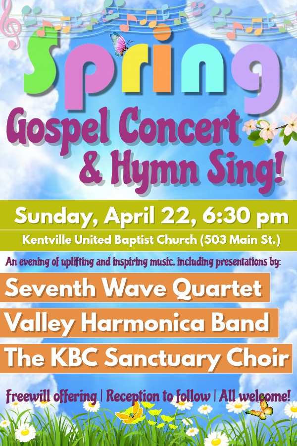 Spring Gospel Concert and Hymn Sing at United Baptist Church