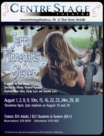 Jerry Finnegan's Sister at CentreStage Theatre, Kentville ...