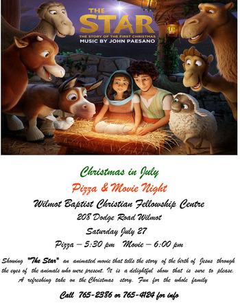 Christmas In July Movie.Christmas In July Movie At Christian Fellowship Centre